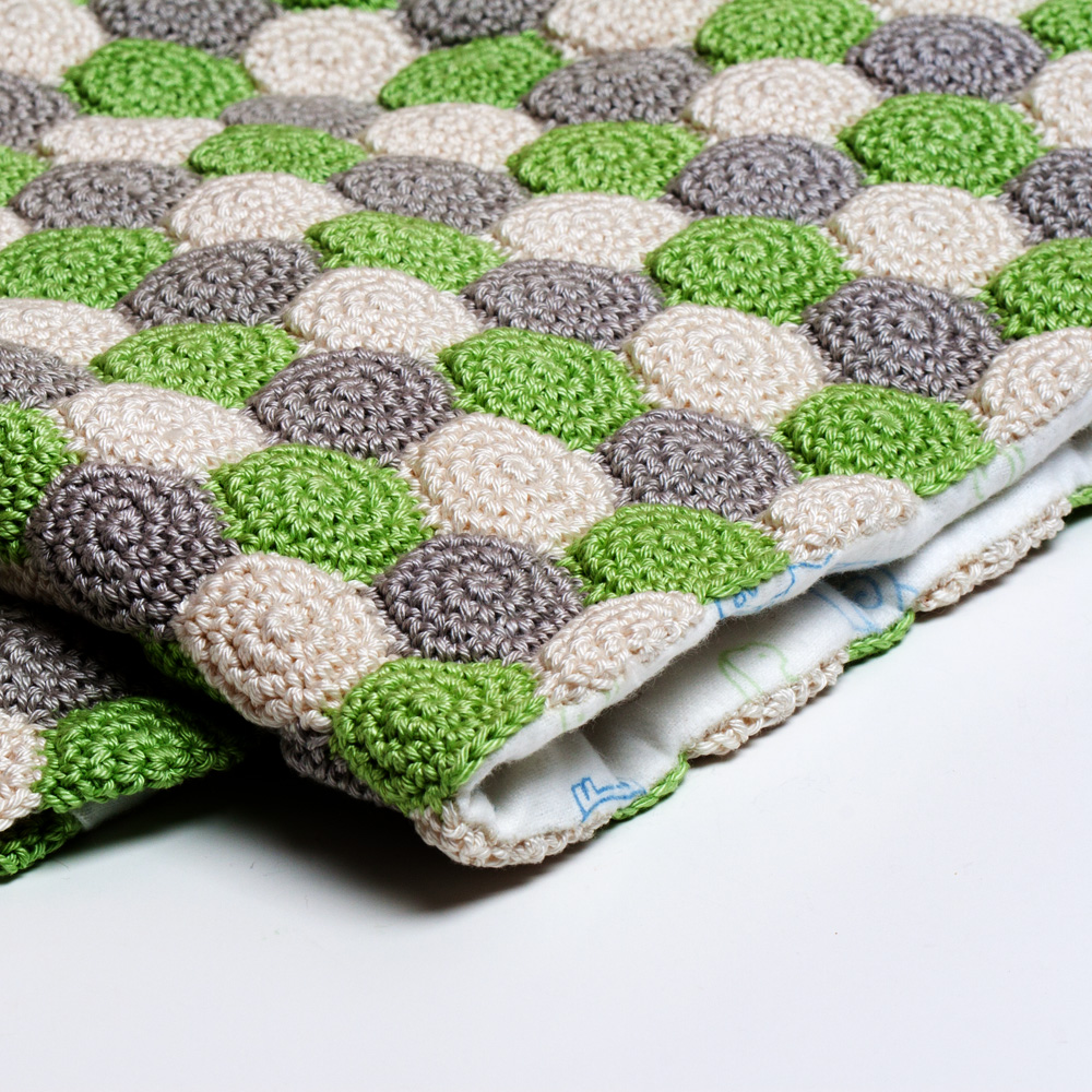 Crochet Reversible Unisex Blanket Pattern