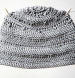 Gray Cloud Crochet Hat Pattern