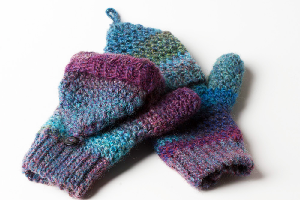 Crochet Pattern Convertible Mittens