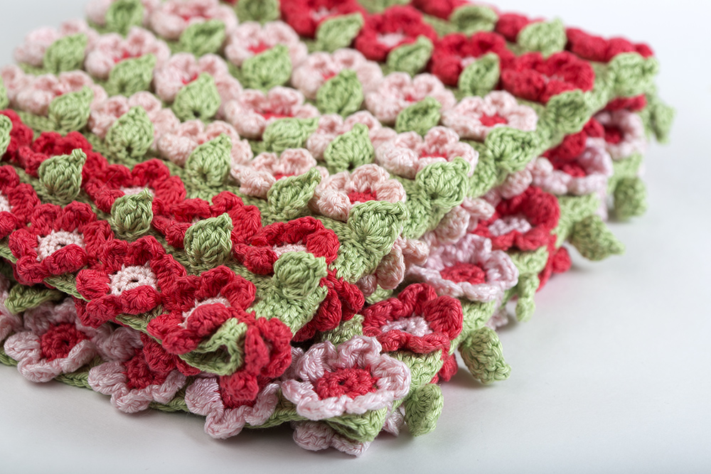 Crochet Flower Pattern Blanket : Crochet Pattern Spring Flower Blanket ? Yarn Twist