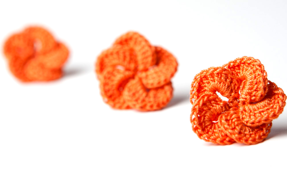 Crochet Pattern Hibiscus Flower