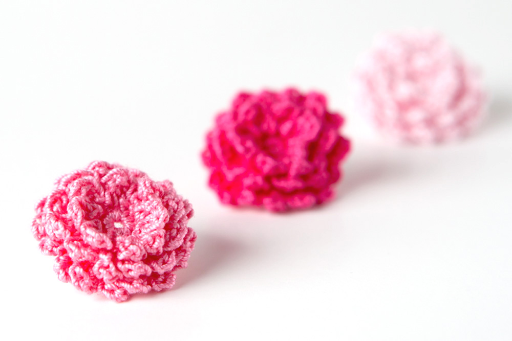 Crochet Pattern Mini roses