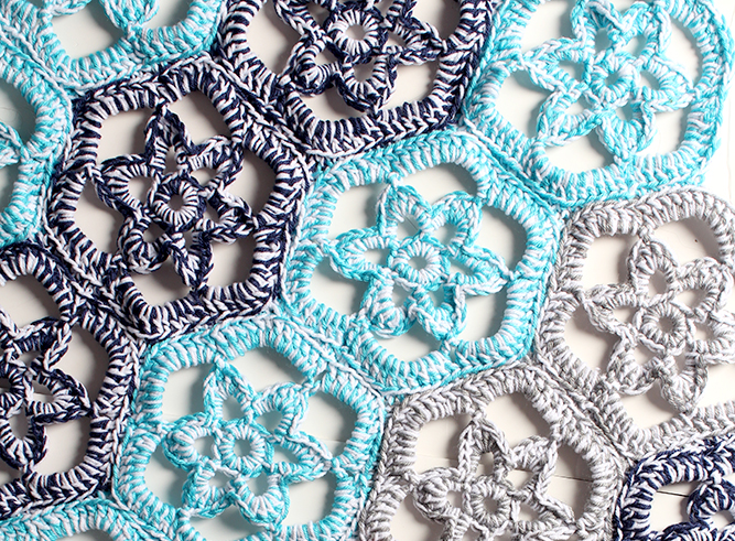 Floral Path Doily Rug Crochet Pattern from www..yarntwist.com