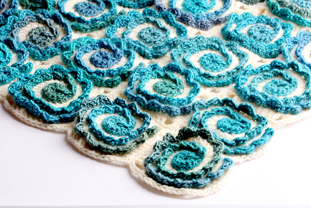 Crochet Surf Blanket by Yarntwist