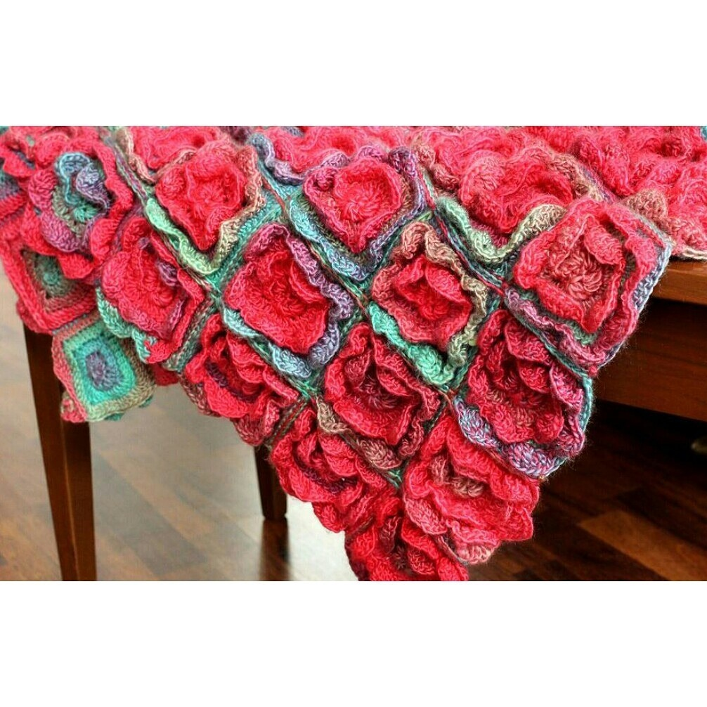 Summer Melody Crochet Blanket Pattern
