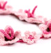 Sakura Blossom Necklace Crochet Pattern