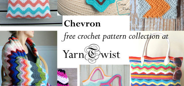 Chevron free crochet pattern collection